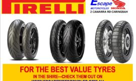 Get your Winter Grip With Pirelli Motorcycle Tyres specials