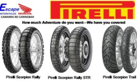 Pirelli Adventure tyres We have you Covered