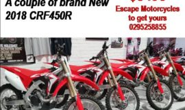 Found in the warehouse 2 NEW 2018 CRF450R have one for only $8495